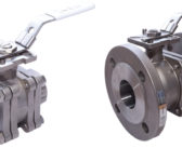 Fire-safe, anti-static, stainless steel ball valves