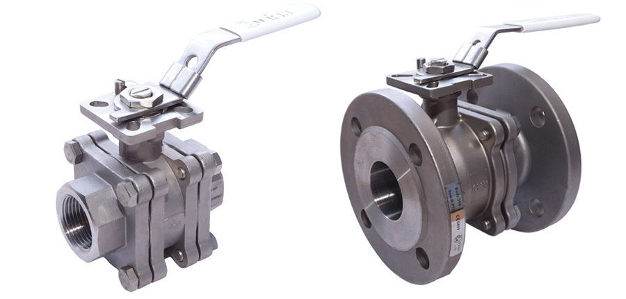 Fire Safe Anti Static Stainless Steel Ball Valves