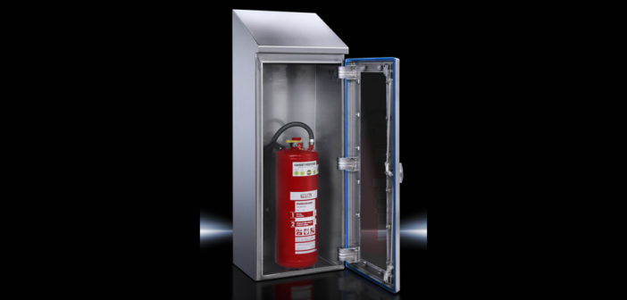 Rittal Hygienic Design Fire Extinguisher Enclosure